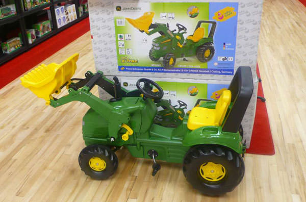 A farm toys and models at the new Music City shop located at Dungannon Enterprise Centre.